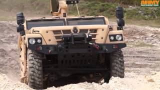 getlinkyoutube.com-Sherpa Light Scout Renault Trucks Defense 4x4 tactical armoured vehicle high mobility and payload