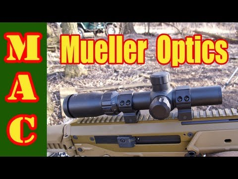 Mueller 1-4x24 Speed Shot Scope