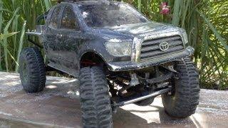 getlinkyoutube.com-CodesEmpire - Axial SCX10 - Toyota Honcho - Rebuild - Waterproofing - Review