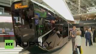 getlinkyoutube.com-Russia: Meet the ultra-modern tram ready for the 2018 World Cup