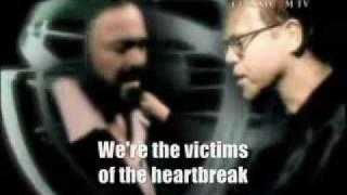 getlinkyoutube.com-Live like horses - Pavarotti - Elton john