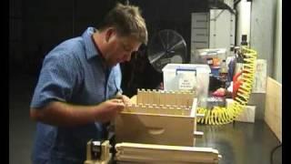 getlinkyoutube.com-Honey Bee Frame Building, Wiring, and Foundation, Full Depth - How to / I do it here Australia