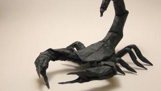 getlinkyoutube.com-Origami Scorpion - Robert J Lang