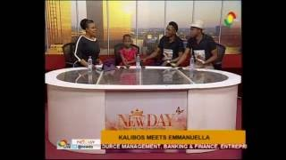 Kalibos Meets Emmanuella On NewDay   11/8/2016