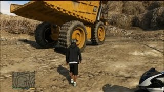 getlinkyoutube.com-GTA V - The biggest Truck location