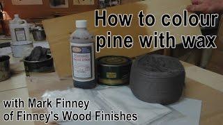 How to wax pine