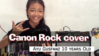 getlinkyoutube.com-Canon Rock by:Jerry C cover:Ayu gusfanz 10 years Old from Indonesia