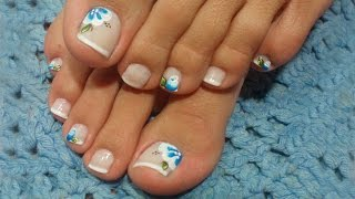 getlinkyoutube.com-Unhas dos Pés Decoradas