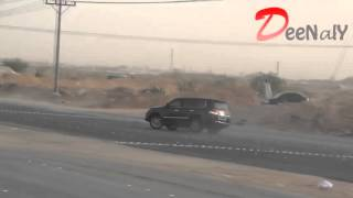 getlinkyoutube.com-Lexus LX570 Drift