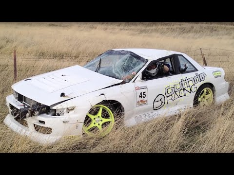 Drift 2 - Officer Dan's 240SX Crash