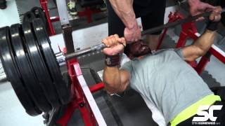 Sergi Constance bench press #SCmass progress