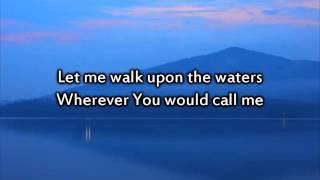 getlinkyoutube.com-Hillsong - Oceans (Where Feet May Fail) - Instrumental with lyrics