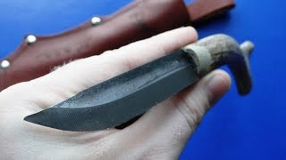 getlinkyoutube.com-Впервые вижу подобный нож! Точнее рукоять. Финский