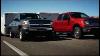 "getlinkyoutube.com-► 2011 Ford F-150 EcoBoost ""Head to Head"" Towing Competition"