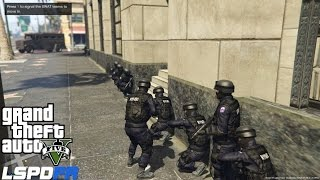 getlinkyoutube.com-GTA 5 LSPDFR Police Mod Ep 58 | Pacific Bank Heist | Assorted  Callouts | NYPD ESU Swat Patrol