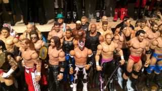 getlinkyoutube.com-The Little Grimmette Show: Reviewing Grim's WWE Mattel Wrestling action figure collection