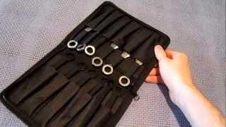 getlinkyoutube.com-12 Piece Kunai Throwing Knife set REVIEW