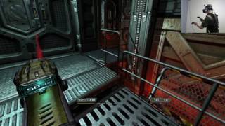 Doom 3 (HTC Vive VR) part 8 PLASMA GUN!! width=