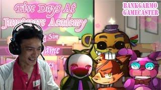 โรงเรียนสอนหลอน ปิ๊งรักจีบชิกะ ;w;b!:-Five Days At Jumpscare Academy
