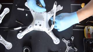 getlinkyoutube.com-DJI Phantom 3 Pro/Adv - Replacing / Changing / Fixing the Shell - Part 3/6