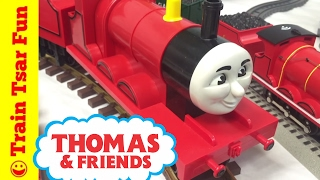 getlinkyoutube.com-My JAMES THE RED ENGINE TRAIN COLLECTION THOMAS & FRIENDS
