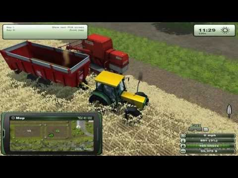 Farming Simulator | Episodul 1 - Grau ,combine si tractoare.