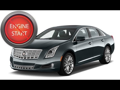 Cadillac XTS with a dead key? Get in and start, even with a hidden key hole!