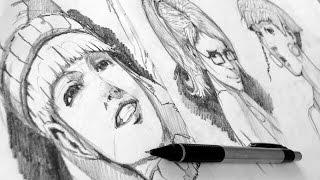 getlinkyoutube.com-Como dibujar Gestos/Expresiones (ANIME y REALISTA)
