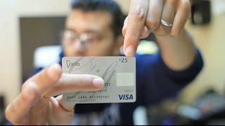 getlinkyoutube.com-أحصل على بطاقة مصرفية VISA مشحونة بمبلغ 25 دولار كهدية