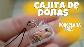 getlinkyoutube.com-Cajita de donas 🍩 PORCELANA FRIA Miniatura
