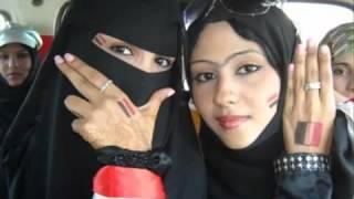 getlinkyoutube.com-yemen music 2011 يوسف البدجي 2011 مشجعات خليجي 20 من بنات اليمن   YouTube