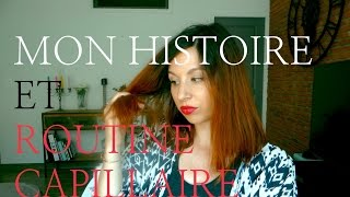 getlinkyoutube.com-Mon histoire et routine capillaire vidéo blabla