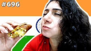BANGALORE DELICIOUS SOUTH INDIAN FOOD INDIA DAY 696 | TRAVEL VLOG IV