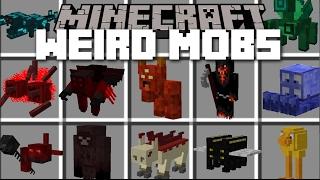 getlinkyoutube.com-Minecraft WEIRD MOBS MOD #2 / LAB EXPERIMENT GONE WRONG!! Minecraft