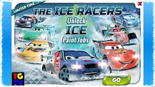 getlinkyoutube.com-CARS Fast as Lightning - View Lightning McQueen and Ice Racers