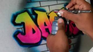 getlinkyoutube.com-Graffiti Dance T-Shirt by Art Spot Airbrush