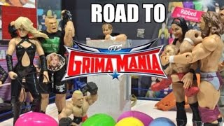 getlinkyoutube.com-GTS WRESTLING: Easter Action! WWE Mattel Elite Figure Animation PPV Event