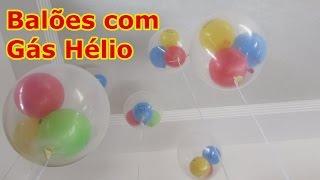 getlinkyoutube.com-Balão Gás Hélio passo a passo