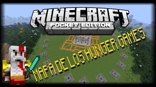 Mapa De Los Hunger Games Para Minecraft Pe 0.10.5