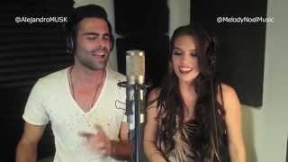getlinkyoutube.com-All Of Me - John Legend (Spanglish Cover by Alejandro Montesinos & Melody Noel)