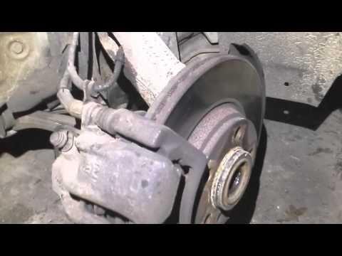 Снятие наружного ШРУСа на Passat B5 без снятия рычагов и полуоси