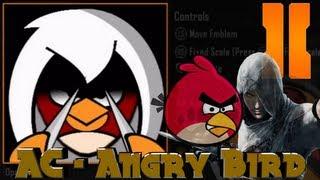 getlinkyoutube.com-Black Ops 2 - Assassins Creed Angry Bird Emblem Tutorial