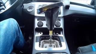 Schaltknauf | Schaltsack wechseln || VW Passat 3C B6 || Gear Shift Knob