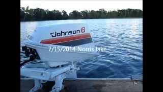 getlinkyoutube.com-1979 Johnson 6hp outboard motor