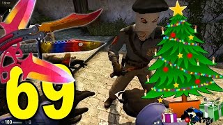 getlinkyoutube.com-CSGO - Part 69 -  KNIFE CHRISTMAS PRESENTS FOR FRIENDS! (CounterStrike Full Game)