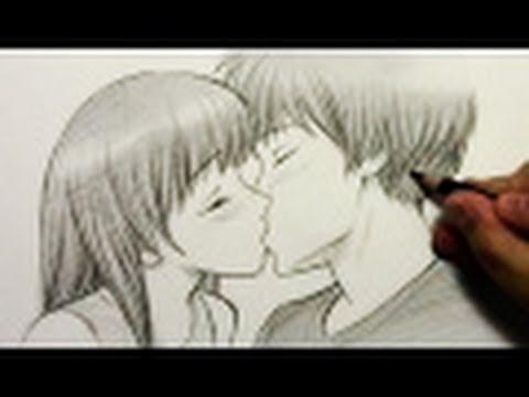 Kako nacrtati poljubac?