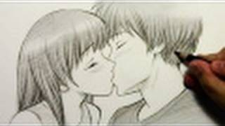 getlinkyoutube.com-How to Draw People Kissing [HTD video #2]