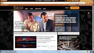 getlinkyoutube.com-طريقة التسجيل في موقع روكستار - وشرح نظام الكلانات في GTA V !