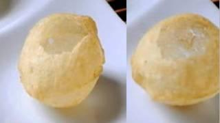 getlinkyoutube.com-How to make Pani Puris or Golgappas or Puchka  Recipe Video - Chaat - Part 1