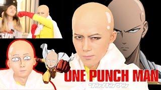 [곽토리 x 허팝] 원펀맨 사이타마 코스프레 메이크업 One Punch Man Cosplay Makeupㅣワンパンマンサイタマメイクアップ 원펀치맨